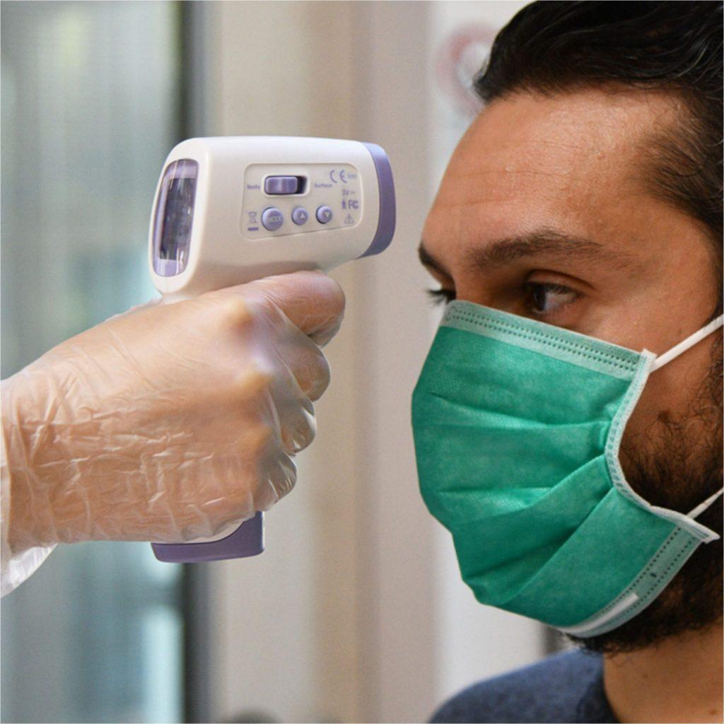 Termometro medicale a infrarossi