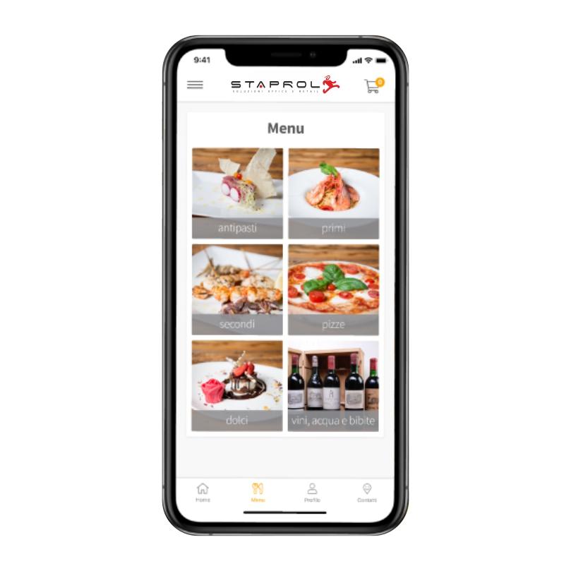 Delivera APP menu digitale e delivery